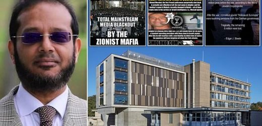 University lecturer suspended over anti-Semitism allegations