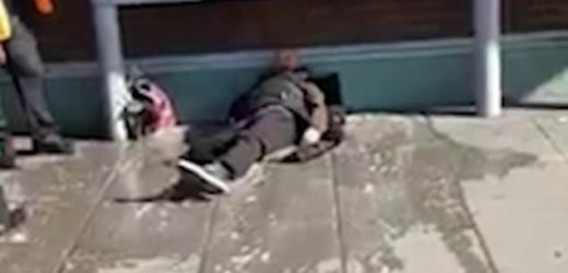 Mother backs railway worker who drenched 'intimidating' homeless man