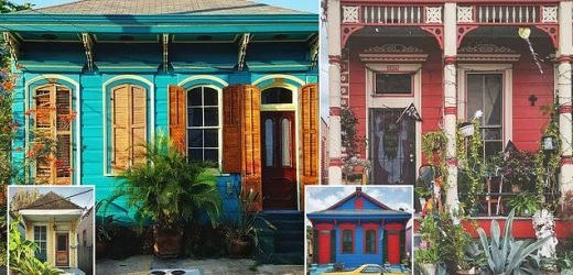 Rainbow colors of New Orleans homes revealed in photo collection