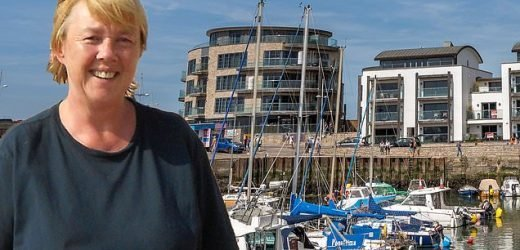 Pauline Quirke puts her Dorset penthouse up for sale for £695K