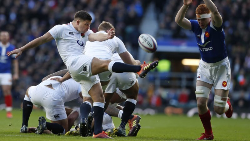 Players 'thriving and loving being part' of Eddie's England