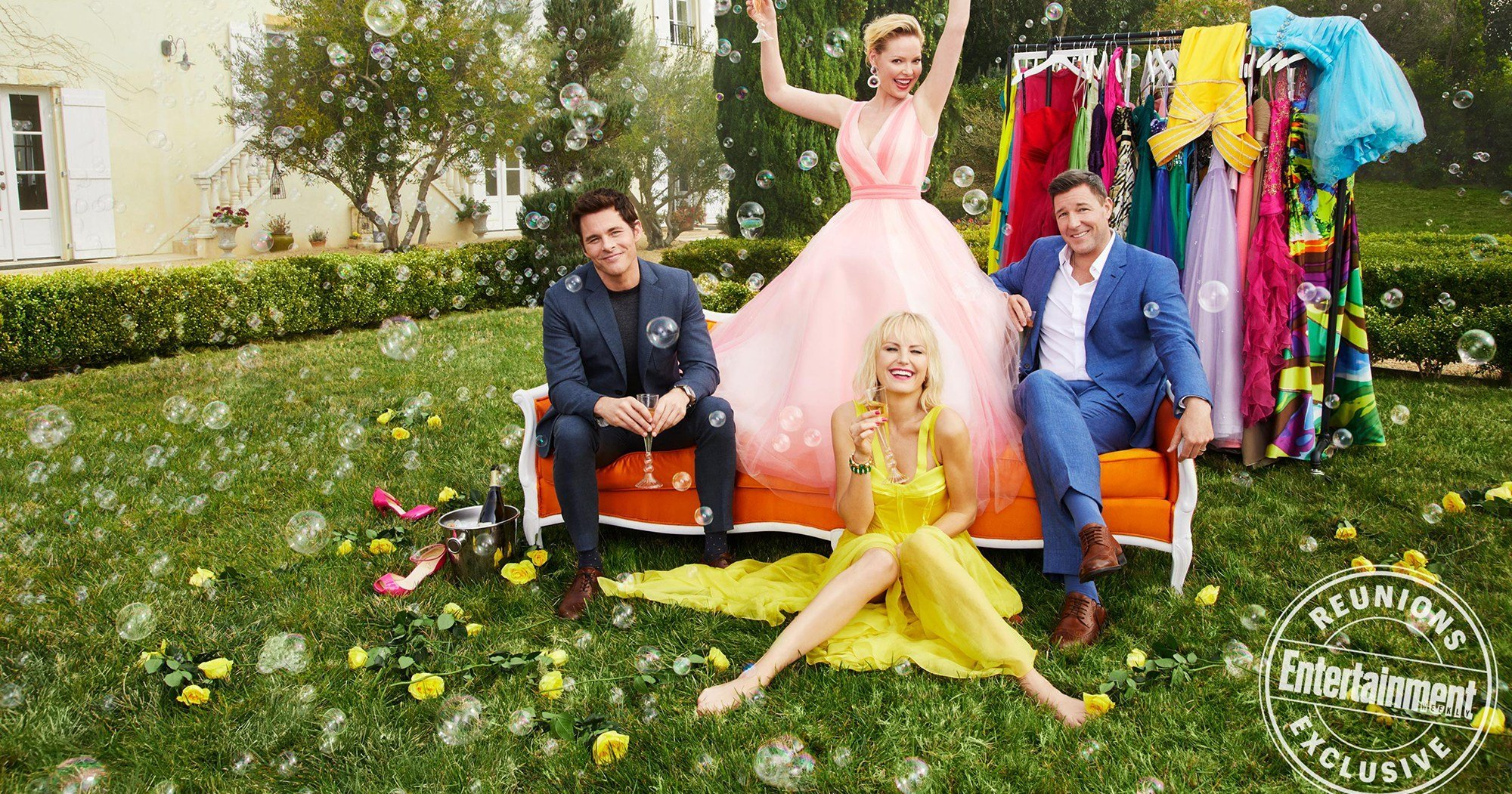 The Cast of '27 Dresses' Reunites for Picture-Perfect Reunion