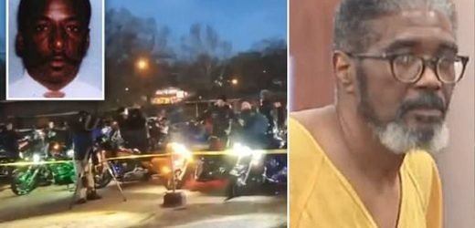 Cops revved their engines outside execution chamber