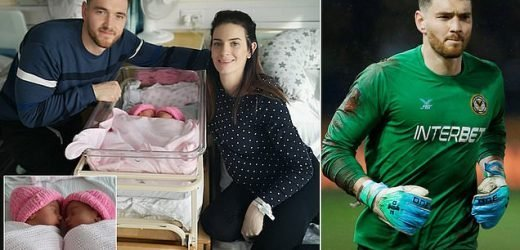 Goalkeeper missed the birth of his twins during Newport's FA Cup win