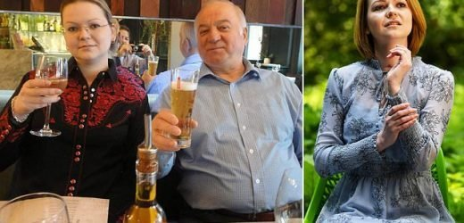 Russian trolls claim Yulia Skripal is pregnant with MI6 agent's baby