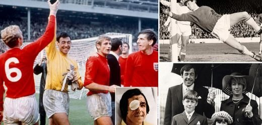 Gordon Banks was a true inspirational hero with the REAL hands of God