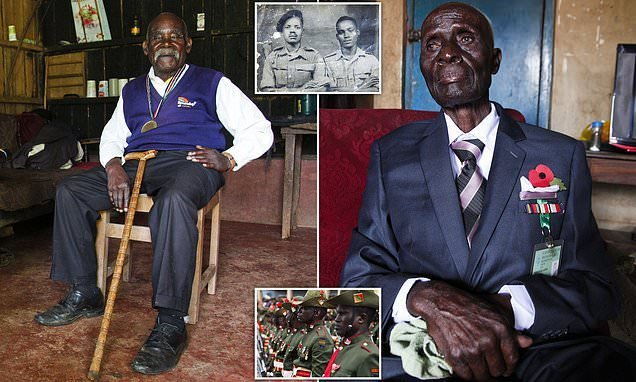 Britain's forgotten African heroes who fought in WWII
