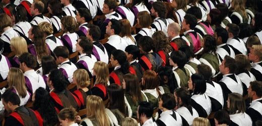 Universities where five per cent of places go to working-class