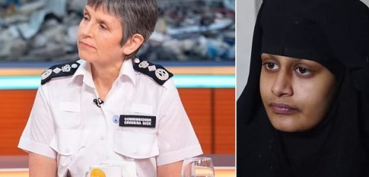 Shamima Begum could be arrested if she returns to UK