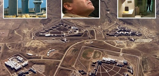 Inside El Chapo's hellhole jail dubbed the 'Alcatraz of the Rockies' where he'll be shut off from ALL contact with the outside world for the rest of his life