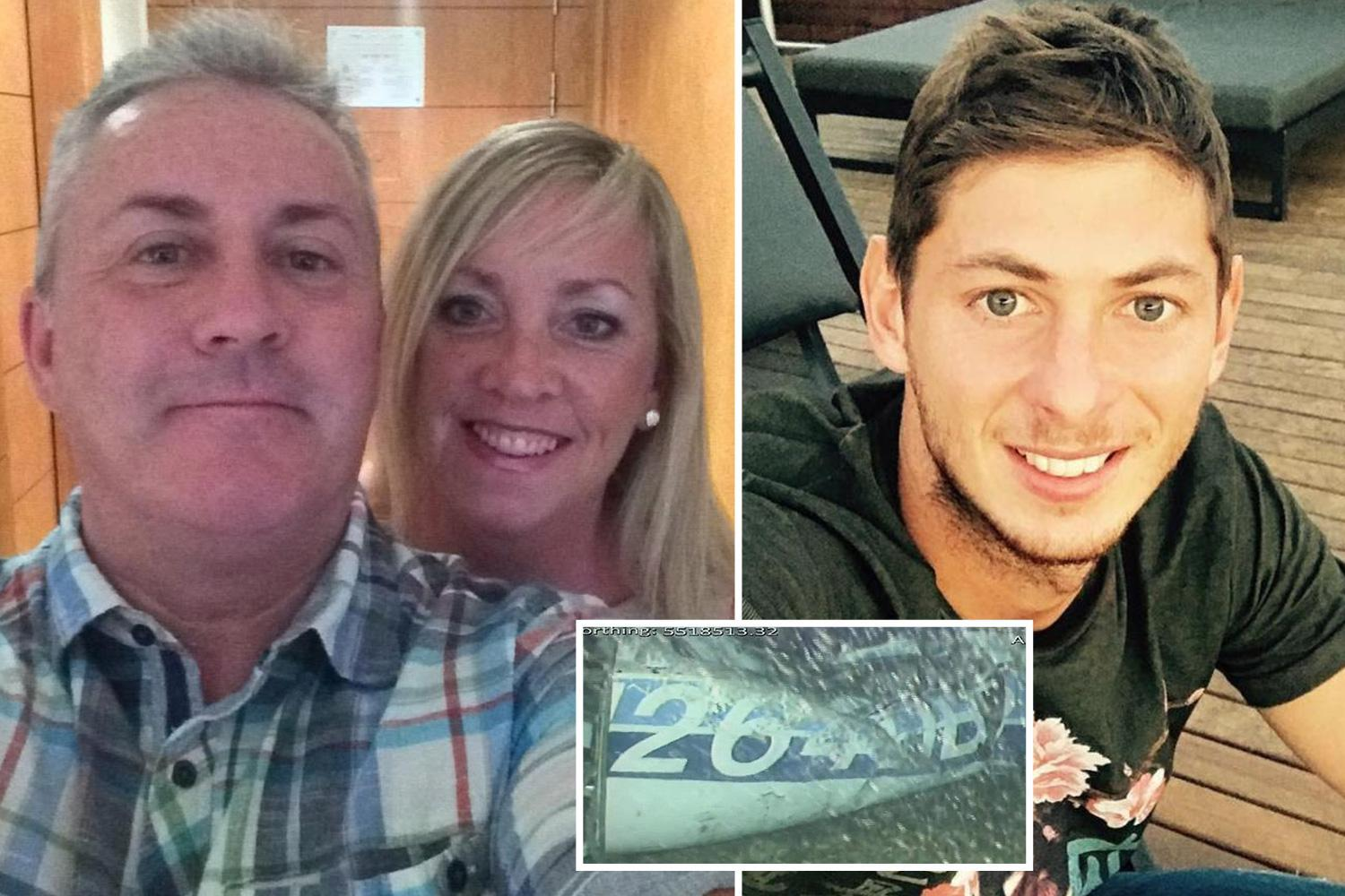 Emiliano Sala pilot's family pay touching tribute to 'best dad ever' with floral shrine in home village