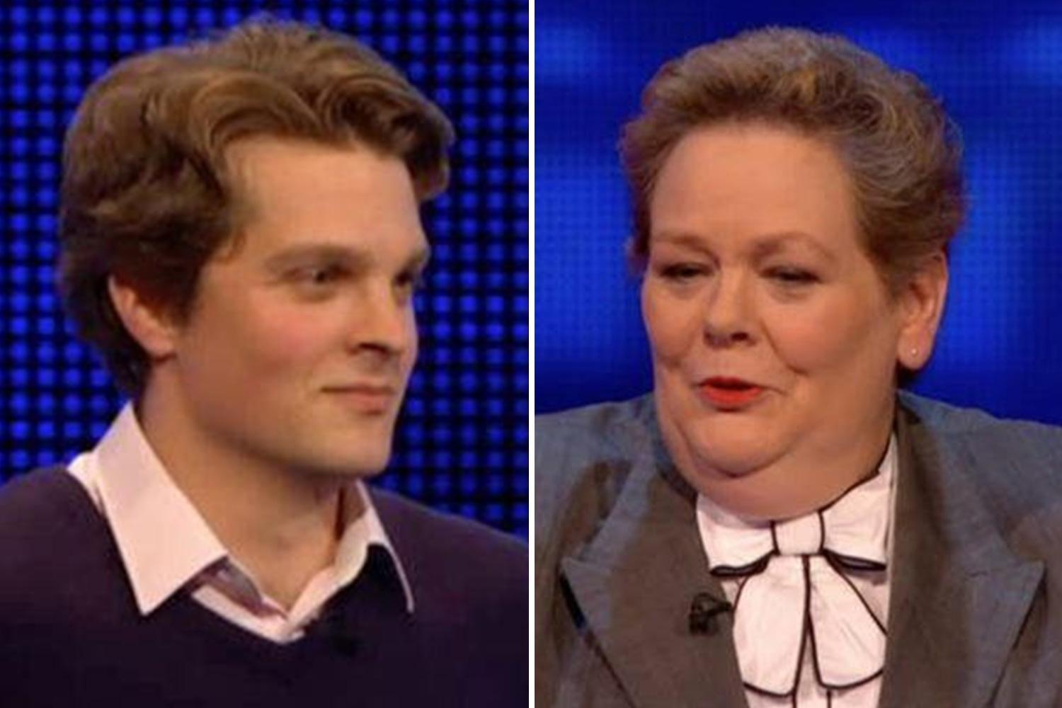 The Chase's Anne Hegerty reveals she wants to 'get a grip' of 'cute' young contestant
