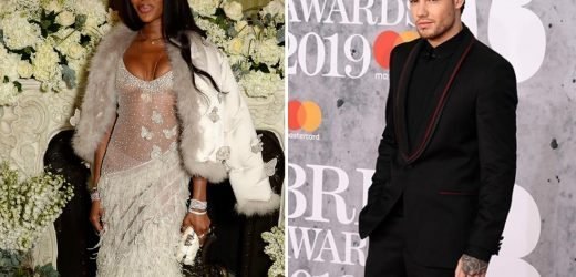 Naomi Campbell 'confirms' romance with Liam Payne by liking dapper picture of him at Brit Awards
