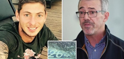Emiliano Sala shipwreck hunter says he's 'concerned' the crashed plane may never be recovered – and says body has NOT been identified