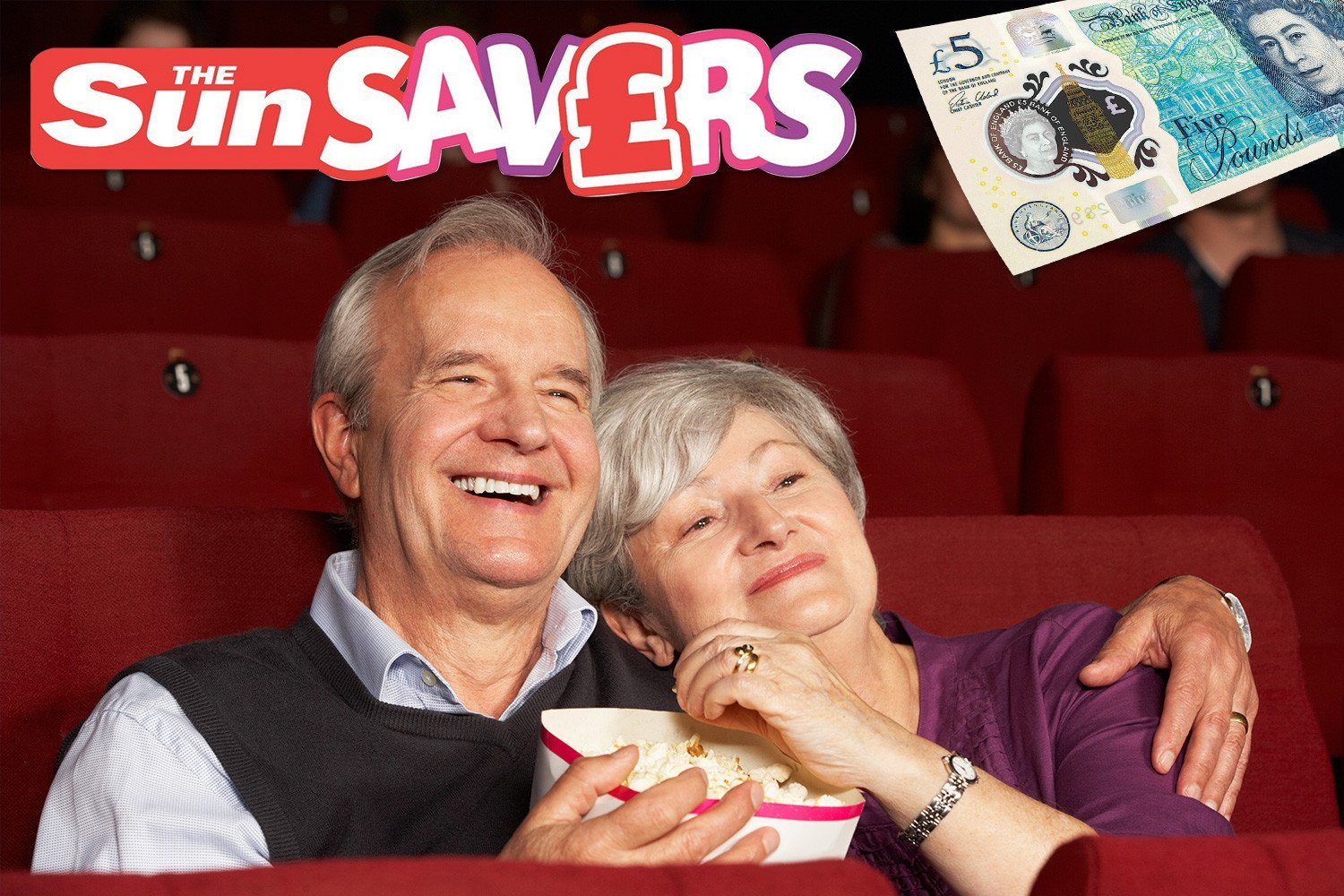 Make gran plans with the best cinema, meal and shopping deals for older folk — plus win £15,000 on the Sun Savers Raffle