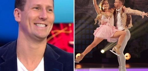 Dancing On Ice's James Jordan DOES have an 'unfair advantage' with his dance background reveals pal Brendan Cole