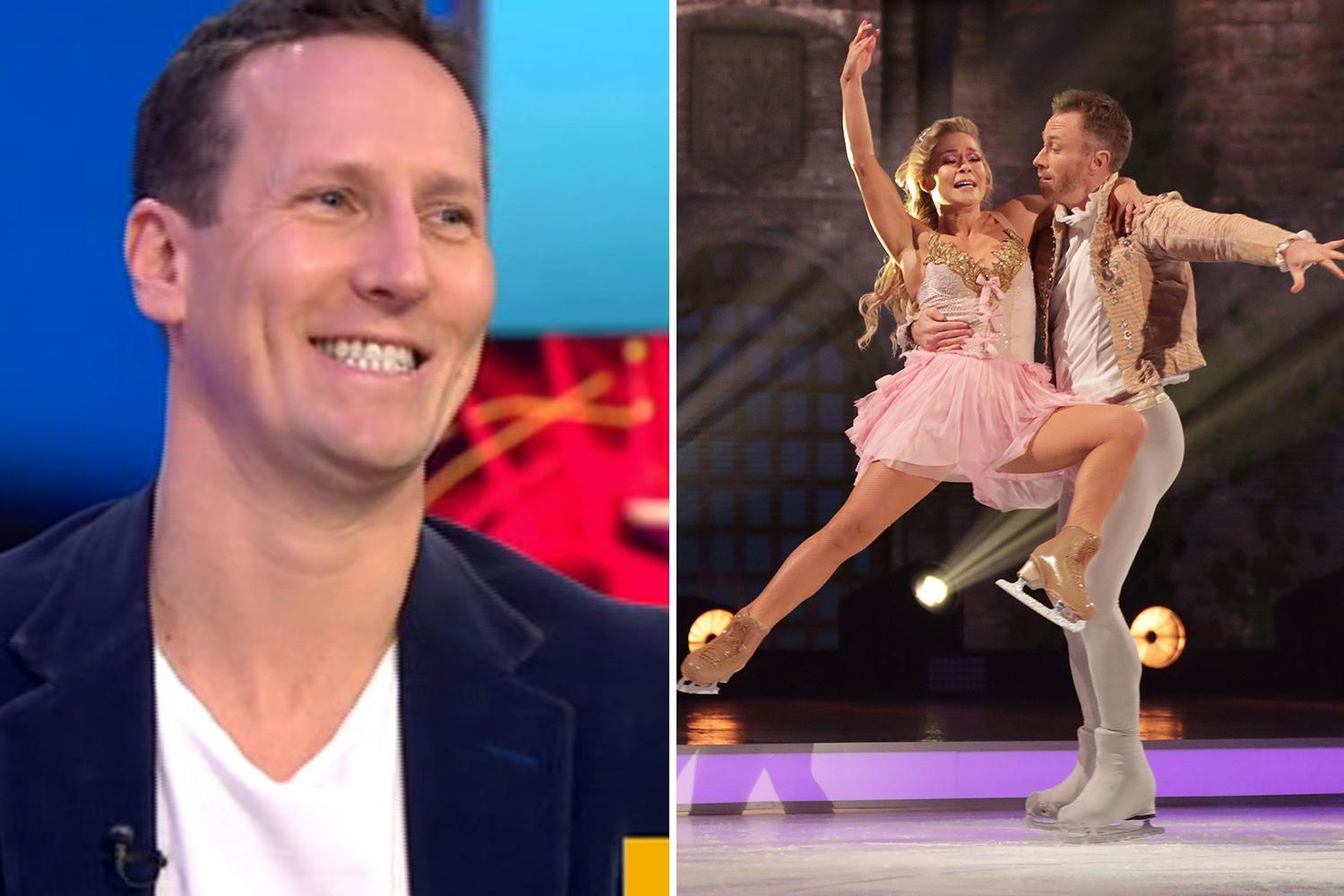 Dancing On Ice S James Jordan Does Have An Unfair Advantage With
