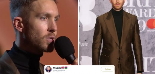 Calvin Harris shocks Brit Awards viewers with 'sexy' accent as fans didn't realise he is Scottish
