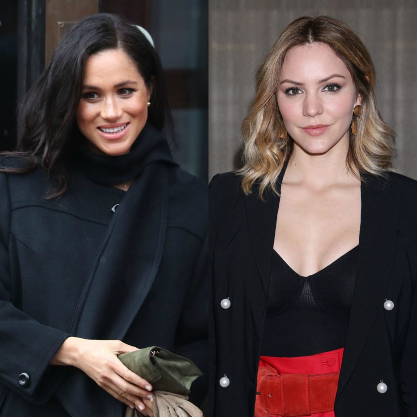 Katharine McPhee Uncovers Adorable Photo With Meghan Markle As Kids!