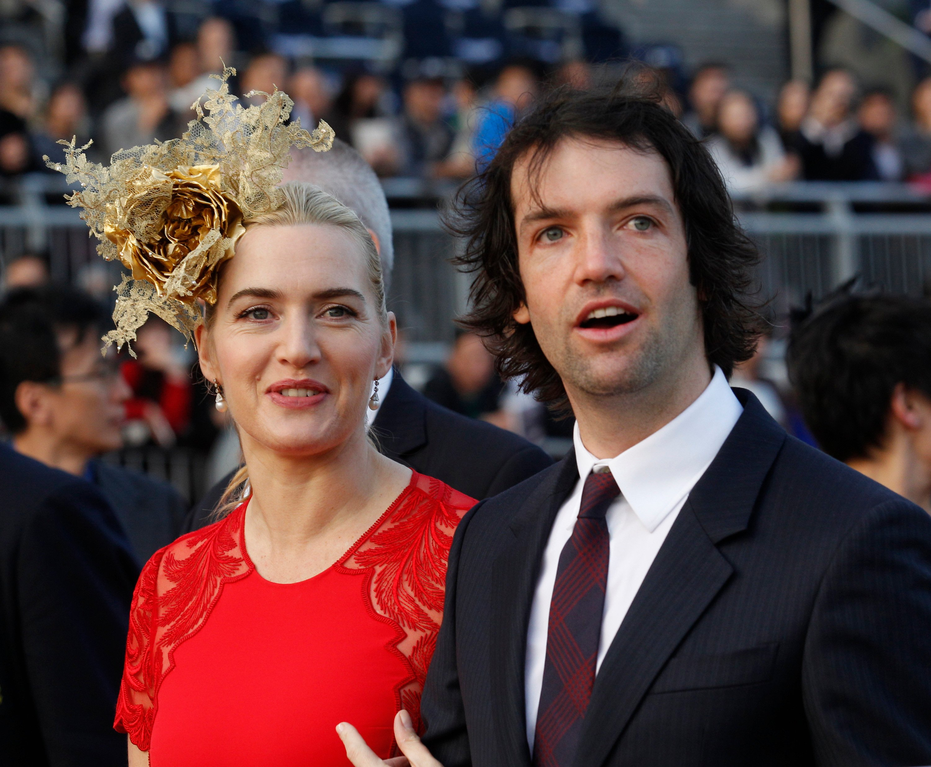 Kate Winslet's husband Ned Rocknroll changes his surname back to Smith