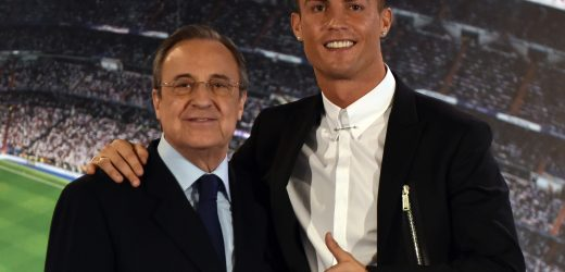 Cristiano Ronaldo quit Real Madrid after they refused to give him a payrise and hearing rumours Neymar was set to sign