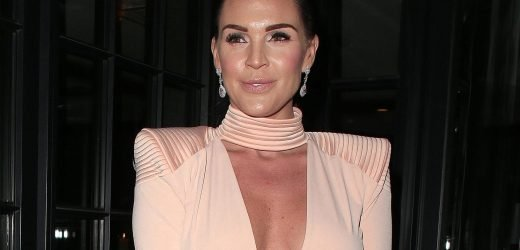Danielle Lloyd urges women against surgery after she nearly died when boob swelled up and burst after op