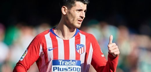 Alvaro Morata has debut to forget as Diego Simeone's men fail to close gap on Barca