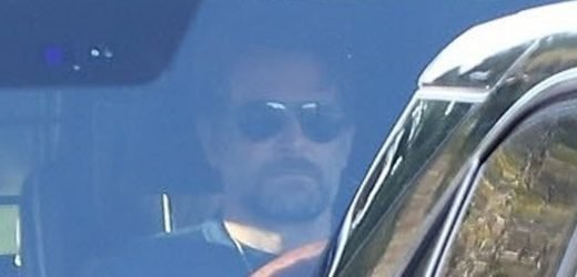 Bradley Cooper and girlfriend Irina Shayk look miserable driving in LA as his ex-wife takes swipe at steamy Oscars duet with Lady Gaga