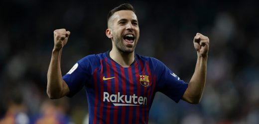 Man Utd blow as Jordi Alba signs new five-year Barcelona deal with £428m buy-out clause