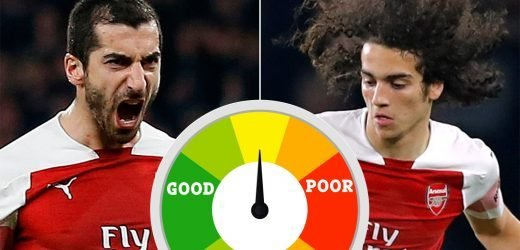 Arsenal player ratings: Mkhitaryan steals the show again as Guendouzi slips up during Bournemouth win