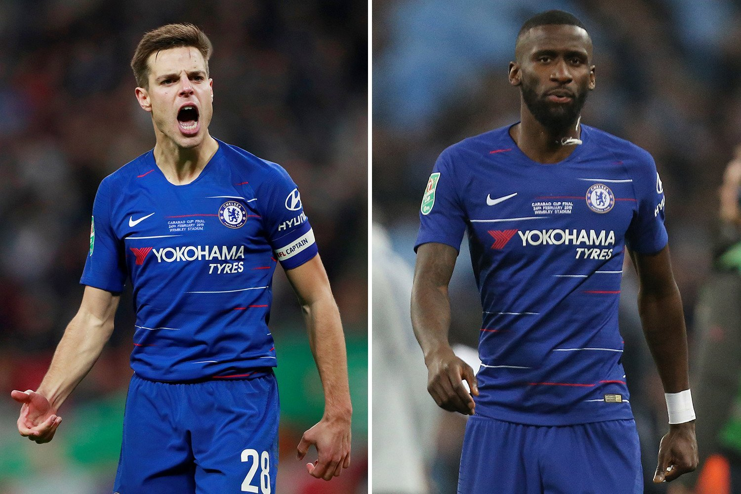 Chelsea fans call for Cesar Azpilicueta to be stripped of captaincy over Kepa row