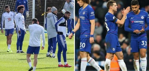 Chelsea flops hold tense clear-the-air team meeting at training HQ after Man City humiliation