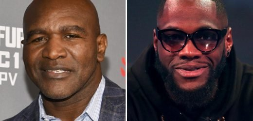 Deontay Wilder will beat Anthony Joshua as he is 'faster and more power', insists legend Evander Holyfield