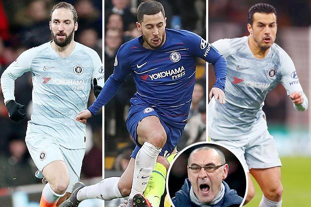 Chelsea boss Sarri must show some fight and tell Hazard, Higuain and Pedro to take the game to Man City