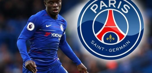 PSG plan to exploit Kante being played out of position by Sarri with summer transfer raid on Chelsea
