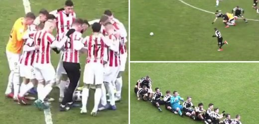 Bizarre Polish league goal goes viral between KS Cracovia and their reserves