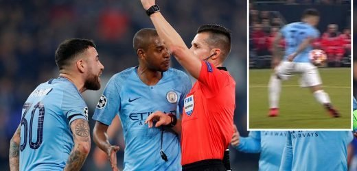 Penalty against Man City in Schalke clash may have been ILLEGAL under VAR rules