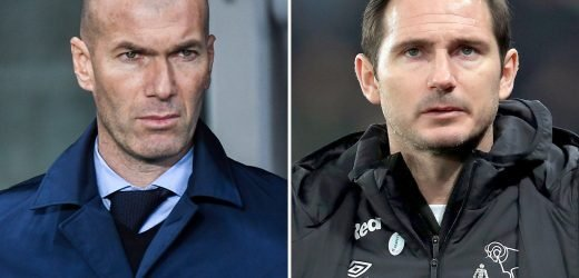 Chelsea make Zidane and Lampard top manager targets after holding talks on whether to sack Sarri