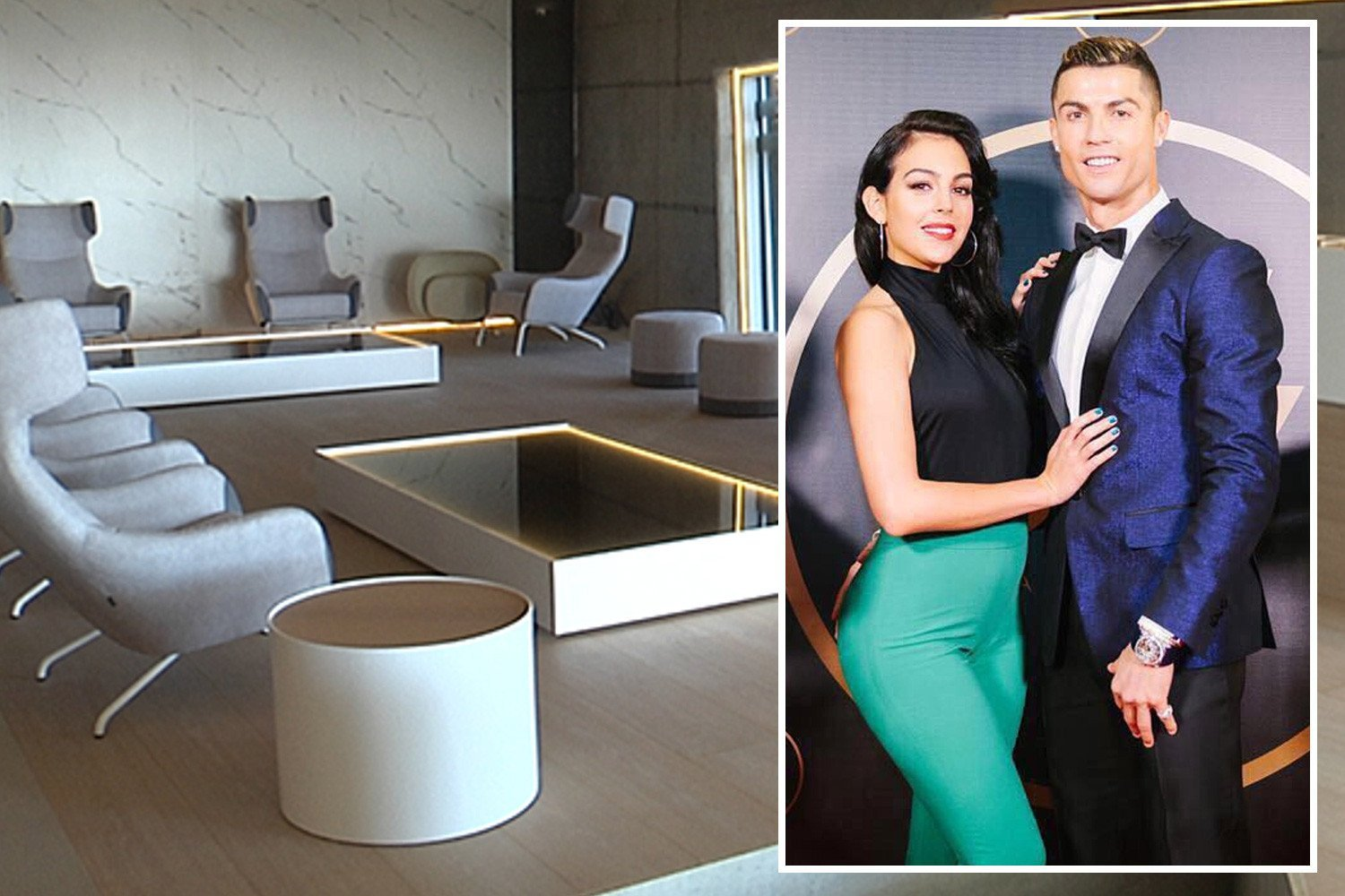 Cristiano Ronaldo to open state-of-the-art hair implant centre in Madrid… managed by Georgina Rodriguez