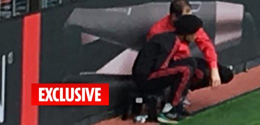 Man Utd staff 'tell ball boys to slow down giving it back to Liverpool' to deal with injury crisis during Premier League clash at Old Trafford