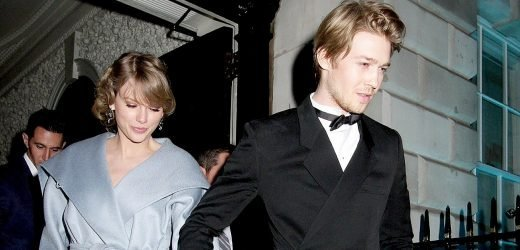 Taylor Swift, Joe Alwyn Get Touchy-Feely at Oscars 2019 Afterparty