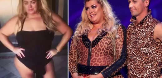 Gemma Collins flies off to a juicing retreat in Portugal to maintain three stone Dancing On Ice weight loss