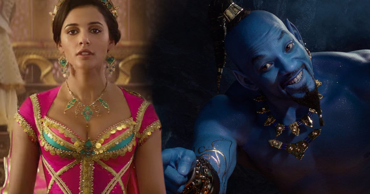 New Aladdin Teaser Finally Unveils Will Smith's Genie in All His Blue Glory, First Glimpse of Princess Jasmine