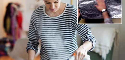 This clever ironing trick will HALVE the time it takes you to press your clothes