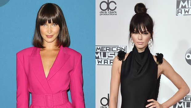 Bella Hadid Vs. Kendall Jenner: Which Model BFF Looks The Most Bangin' With Bangs?