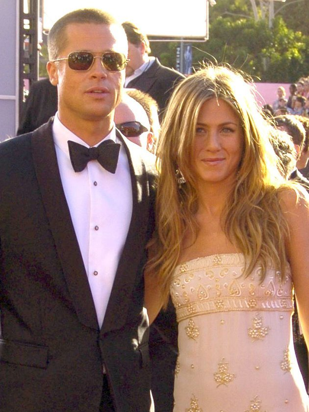 Is this the REAL reason Brad Pitt attended Jennifer Aniston's 50th party?