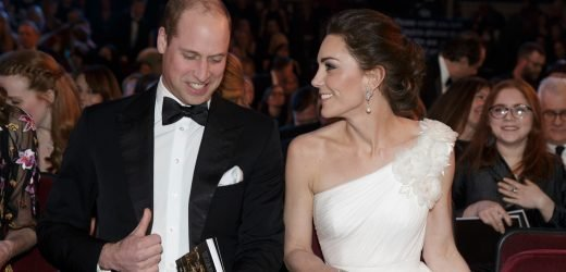 Kate & William Joke About the Awkward Silence at Their BAFTAs Arrival