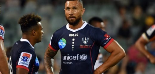 Quade Cooper stars but Brumbies crowd not there to see it