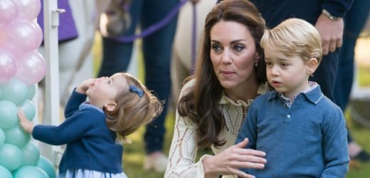 Prince George and Princess Charlotte Help Kate Middleton Cook Pasta