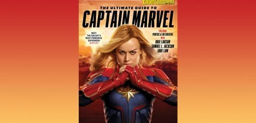 Brie Larson soars in EW's 'Captain Marvel' collector's edition